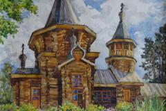 Фаткулина Анастасия Дмитриевна 17 лет Церковь Дивногорска. Красноярск